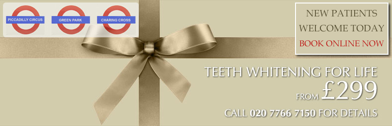 teeth whitening central london